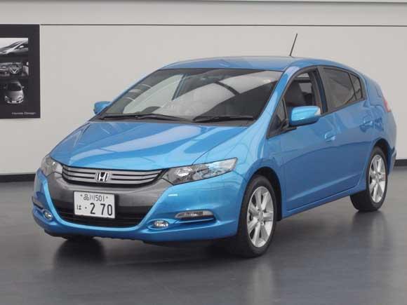 7 月の新車販売ランキング7位と好調のインサイト。