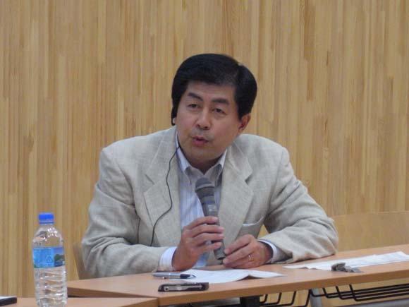 i.schoolの説立・運営の指揮をとる同エグゼクティグ・ディレクター、堀井秀之教授。
