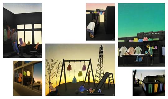 2009年度受賞作品。学生部門 大賞/三橋 恵「鉄塔と枝の先と私の温度」