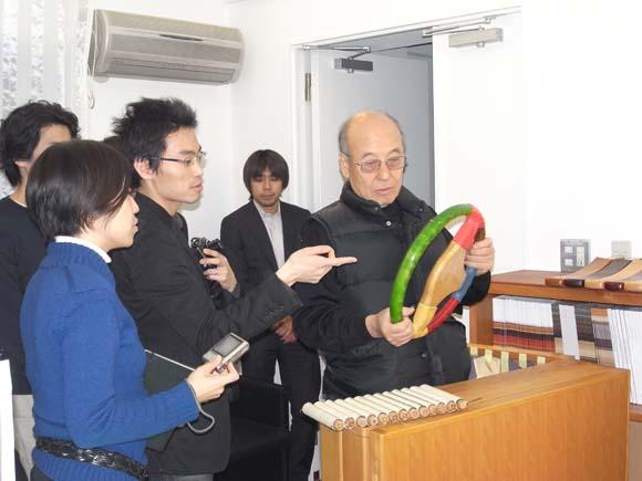 ミネルバ本社・工場に宮本茂紀さんを訪問 AXIS モバイル・トークセッション3