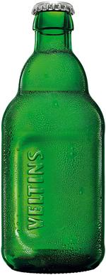 1953年からあるデザインを新解釈した ドイツビール「フェルティンス」の新ボトル