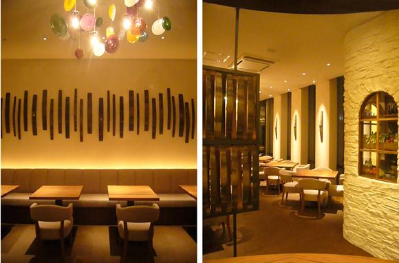 エンバディデザインの手がけたレストラン「銀座野菜蔵 滋味」がオープン