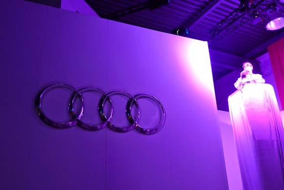 デザインとアートの夕べ アウディが新型A8のドイツプレミアを開催