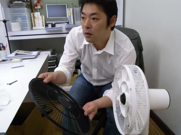 技術革新とユーザメリットを実現した新しい扇風機 バルミューダデザイン「GreenFan(グリーンファン)」