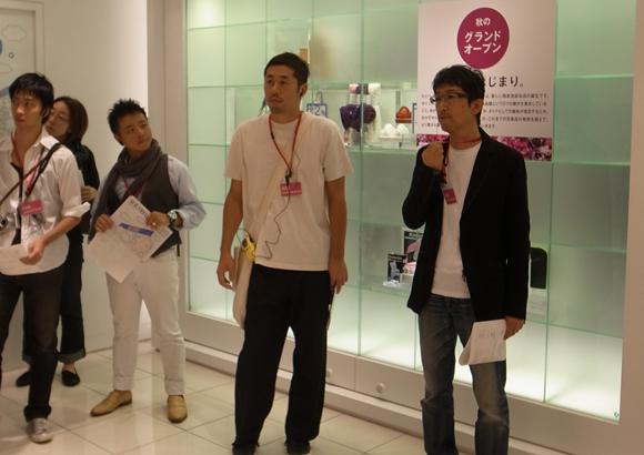 AXISモバイルトークセッション5「廣村正彰さんと行く、西武池袋本店こんなのどうかなプロジェクト」参加者…