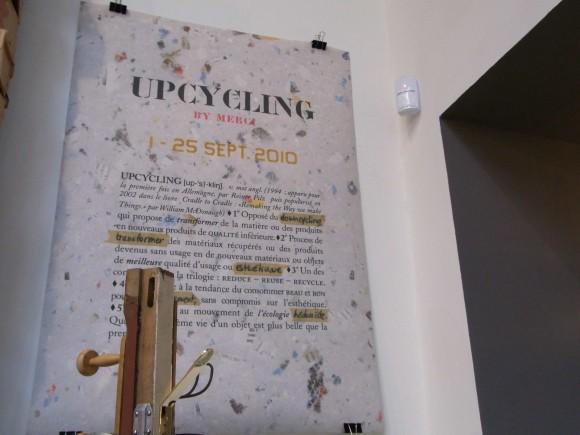 パリで話題のコンセプトストア「merci」で 社会貢献をテーマとした「UPCYCLING」展がスタート