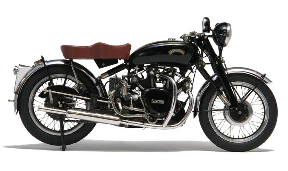 「1/9の小宇宙」歴史的名車スクラッチモデル: VINCENT Black Shadow Series C /1953/U.K.