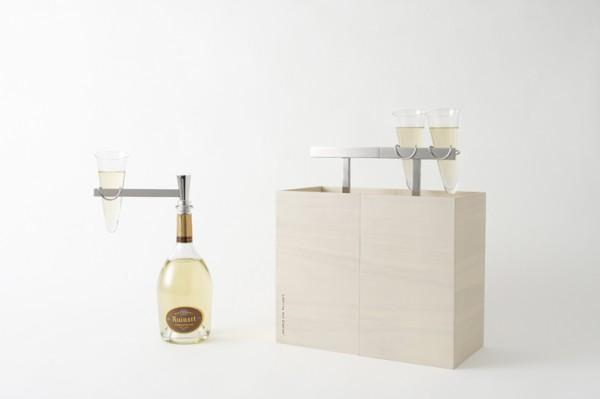 nendoとシャンパーニュメゾン「ルイナール」がコラボレーション 「Ruinart Kotoli Box」が数量限定で発売…
