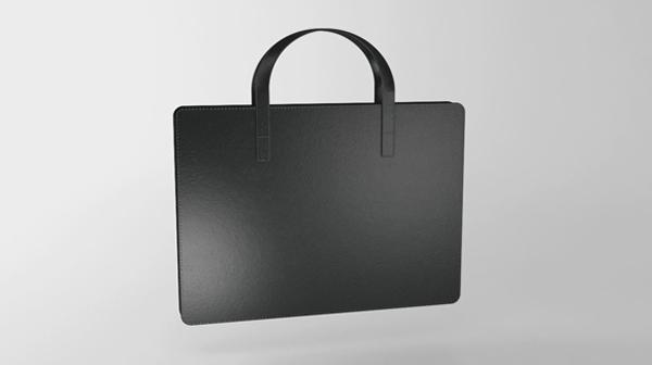 A3の書類を折らずに入れられるビジネスバッグのプロトタイプをデザインしてみた