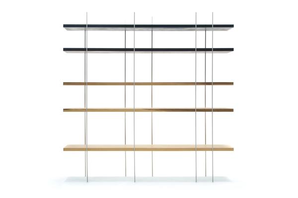 可能な限り細い支柱で支える棚をつくるために 橋本潤「ほそくてあついたな」
