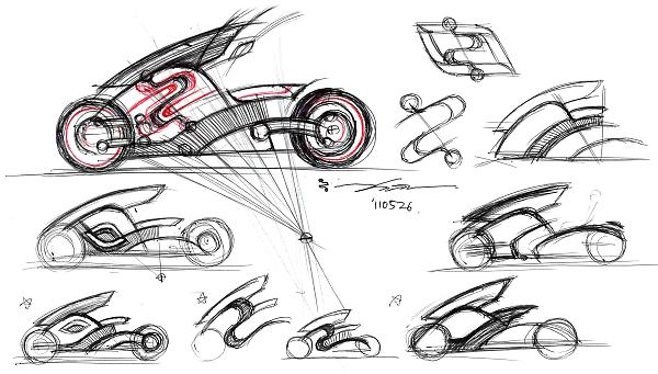 夢の電気バイク「zecOO(ゼクウ)」製作プロジェクト/前編 思い描いたイメージを目に見える形に