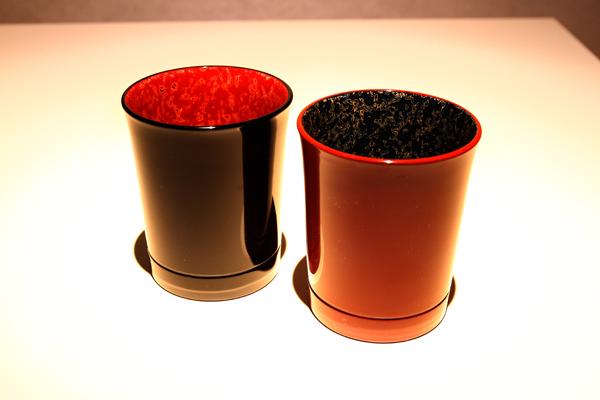 ウィスキーグラスを漆器で楽しむ「堆朱で粋酒」 ーーSHIKKI de SHUKI 2013より