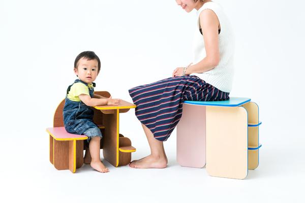 人と一緒に成長する家具 鈴野浩一、トラフ建築設計事務所「ダイス」