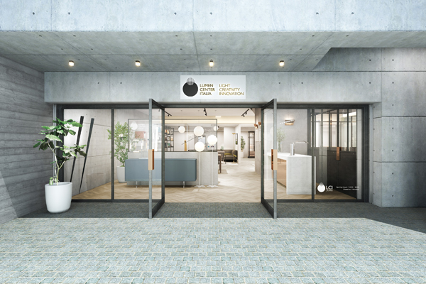 「ルーメンセンター・イタリア」のアジア初のショールームがオープン