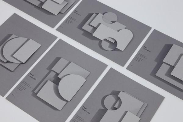 三澤 遥さんデザインの建築物のようなメッセージカード