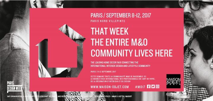 新たな発見を促す会場構成に、メゾン・エ・オブジェ・パリ 2017年9月展