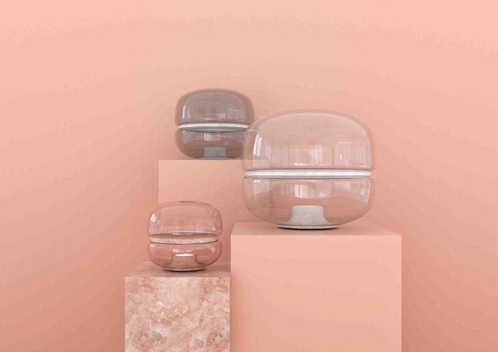 ミラノサローネ / ユーロルーチェ2017  「ガラスと異素材の美しいコンビネーション ーーブロッキス(BROKI…