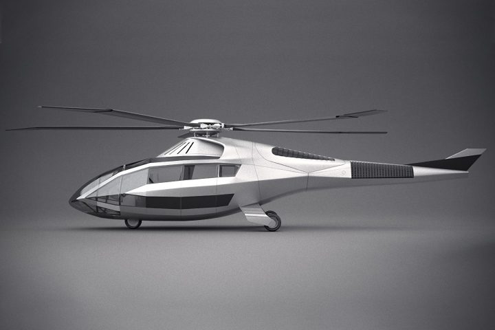 ヘリコプターの未来を示唆する、ARとAIを駆使したコンセプトモデル「FCX-001」