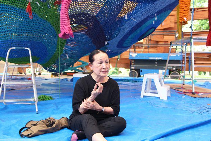 ネット遊具が育む子どもたちの未来「YARN 人生を彩る糸」出演、堀内紀子(造形作家)インタビュー