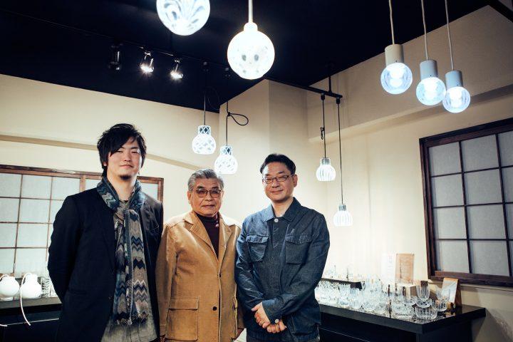 東京ビジネスデザインアワード(TBDA) 2012 テーマ賞受賞 廣田硝子 ☓ 玉置潤平「乳白ガラスのペンダント…