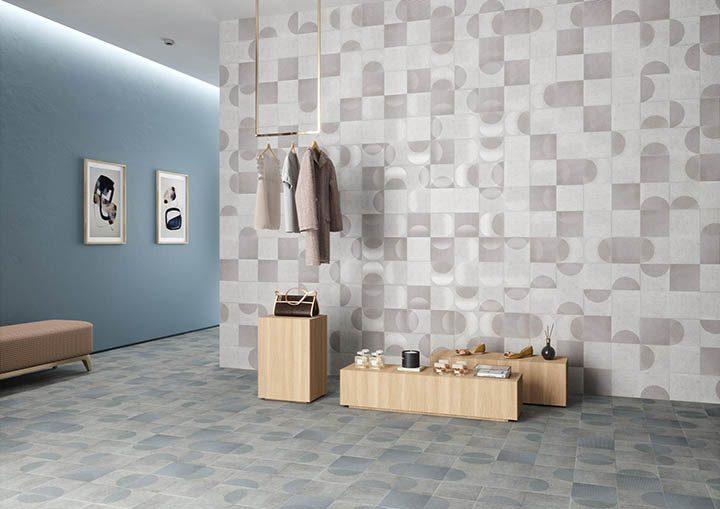 光と反応するタイル スペインのメーカー、ペロンダの 「FADING」