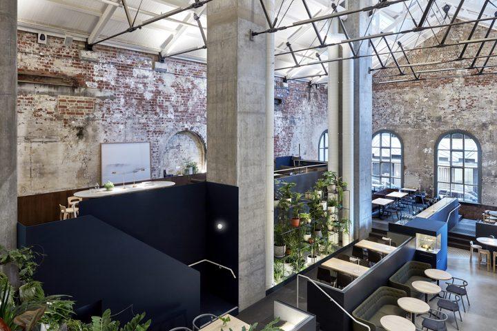 コーヒーカルチャーの街、メルボルン。歴史と現代性を融合したHigher Groundのカフェデザイン