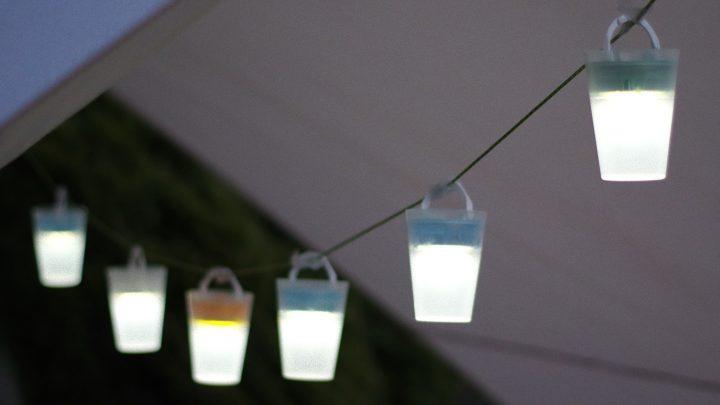 直感的に調光できる、LEDを用いたアウトドアランタン「ルナークCL1」