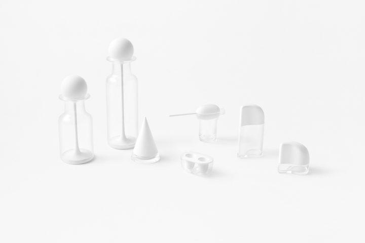 nendoがダイキンの高性能フッ素ゴムを使って作った キッチンウェアコレクション「air lids」