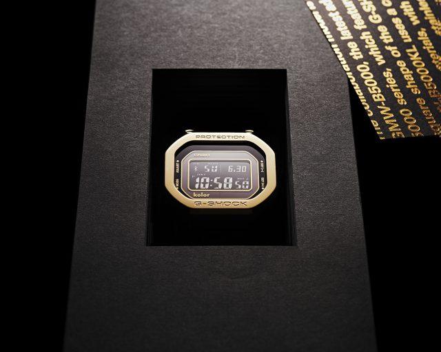 kolorとG-SHOCKによる 世界限定700本のコラボウォッチが発売