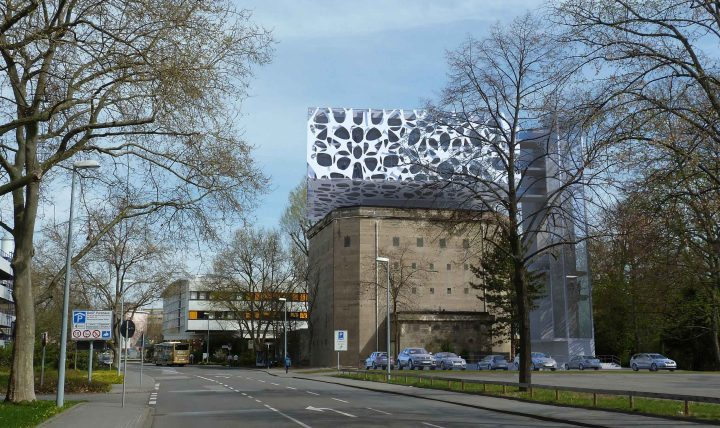ドイツの総合化学メーカー・BASF 防空シェルターを活用したクリエーションセンターを建設中