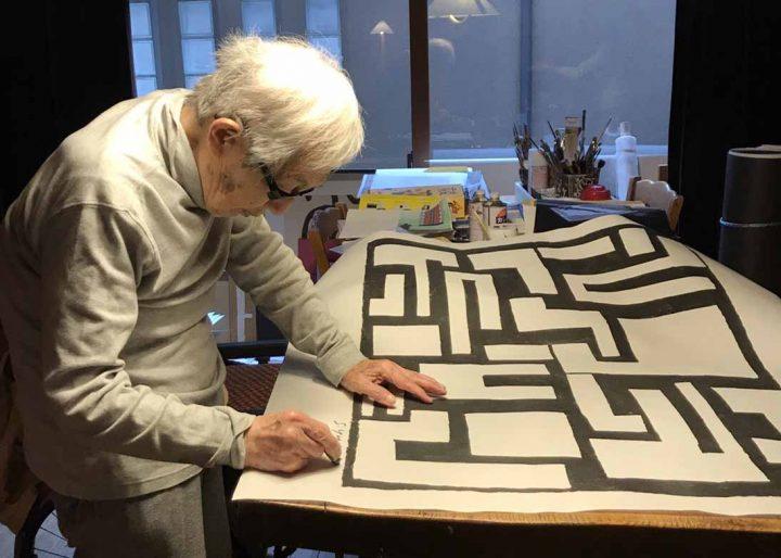 「柚木沙弥郎展 ―紙に描かれた模様―」 日本を代表する染色家の最新作と新商品原画を紹介