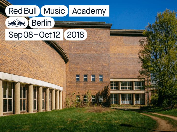 若き音楽家のための音楽学校「Red Bull Music Academy 2018」 ベルリンのFunkhausにて今秋開催