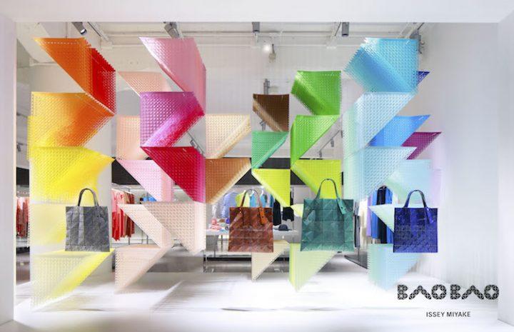 フランス人建築家エマニュエル・ムホー BAO BAO ISSEY MIYAKEの「MISTY MOON」にちなんだ インスタレーシ…