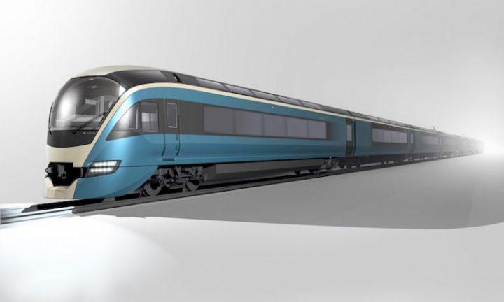 工業デザイナーの奥山清行氏による JR東日本の新型観光特急列車「E261系」が発表