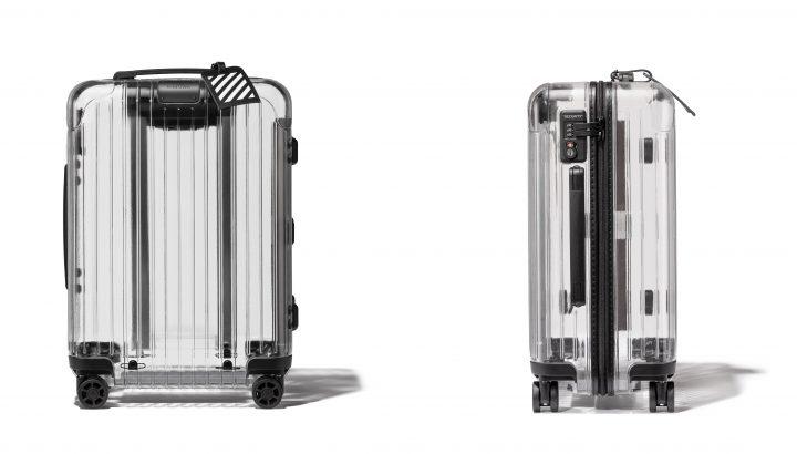 RIMOWAが透明のスーツケースを発表 ストリートウエアブランド「OFF-WHITE」とコラボで