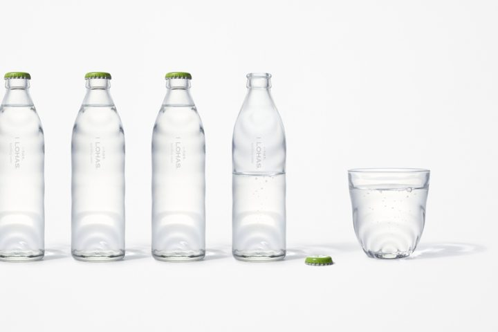 nendoの佐藤オオキ氏がデザイン い・ろ・は・す初のグラスボトル入り炭酸水が誕生
