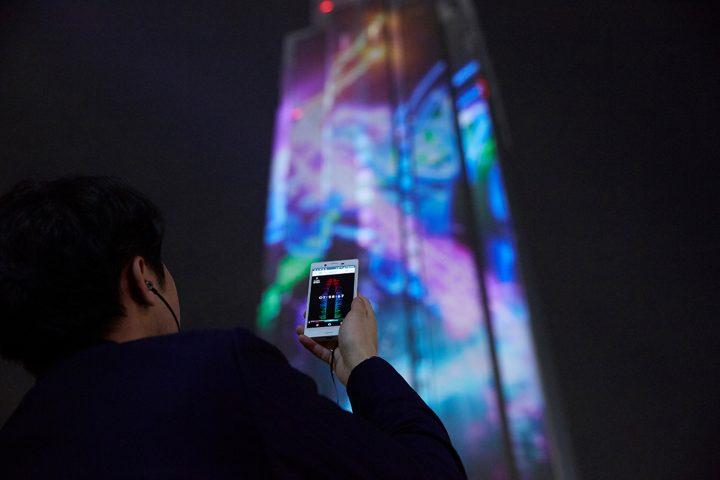NTTの先進技術を活用したプロジェクションマッピング「YOYOGI CANDLE 2020」 「デジタルサイネージアワー…