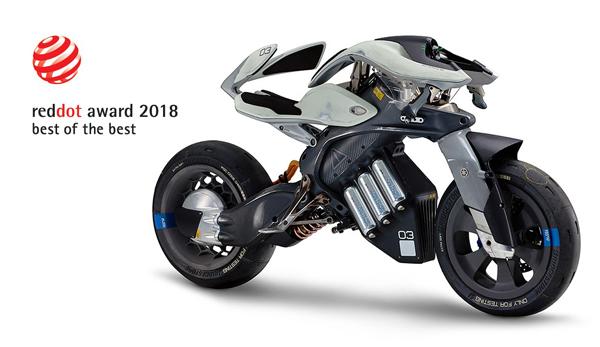 人とマシンが共響するパーソナルモビリティ ヤマハ「MOTOROiD」 Red Dot Award:デザインコンセプト2018大…