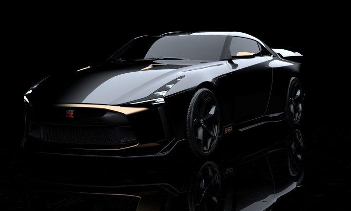 日産自動車とイタルデザインが共同開発したプロトタイプ車 「Nissan GT-R50 by Italdesign」が公開
