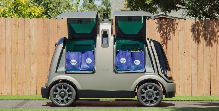 米・スーパーマーケットチェーンとロボティクス企業・ニューロが提携 無人デリバリーカー・サービスの試験…