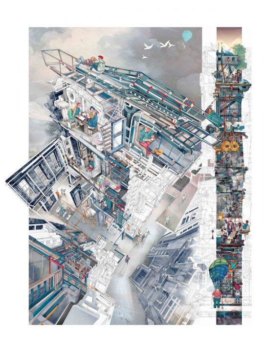 ワールド・アーキテキチャー・フェスティバルが2018年度 Architecture Drawing Prizeの出品作を募集 着想…