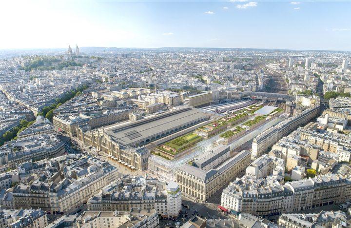 建築事務所ヴァロード・エ・ピストルがパリ・北駅の再開発プロジェクトを担当 パリの玄関口を一新するデザ…