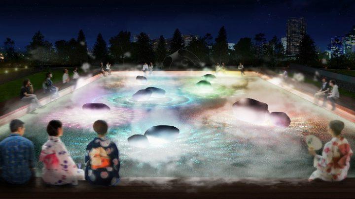 WOWが手がける「光と霧のデジタルアート庭園」 2018年7月13日(金)より東京ミッドタウンに登場