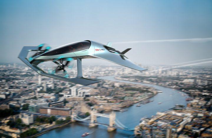 イギリスの自動車メーカー・アストンマーティンが大空に挑む 垂直離着陸可能な飛行機のコンセプトを発表