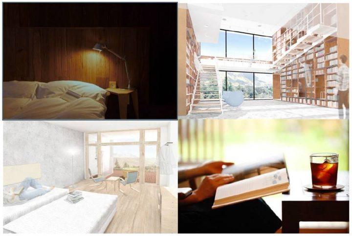 国内外の良書を集めたブックホテル「箱根本箱」が2018年8月にオープン