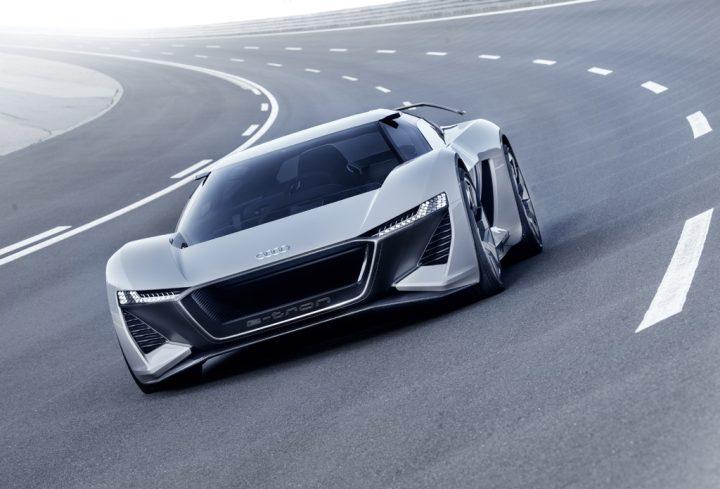 アウディのコンセプトカー「Audi PB18 e-tron」発表 電気自動車の限界を打ち破る未来の高性能スポーツカー