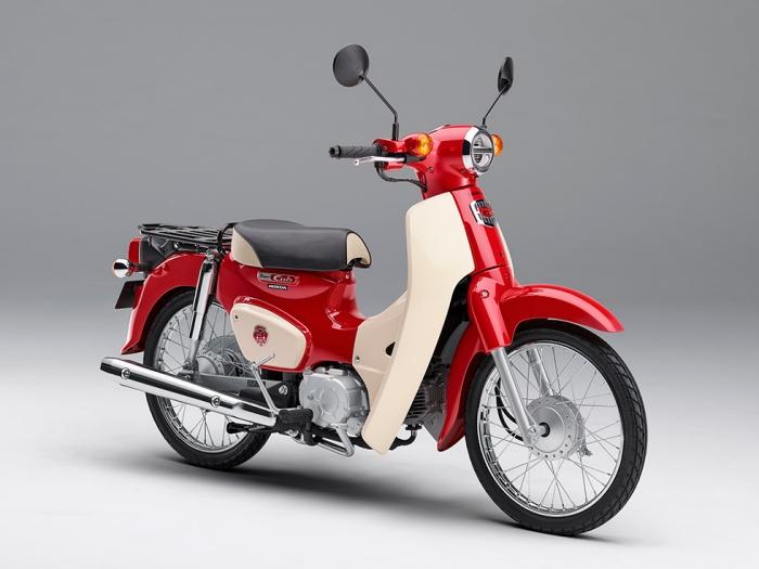 Honda スーパーカブが誕生60周年 アニバーサリーモデルを期間限定で受注販売