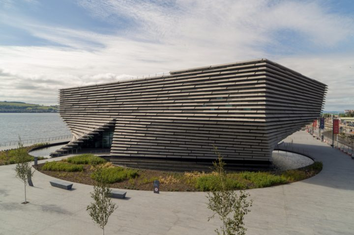 隈研吾が手掛けたスコットランド初のデザイン博物館「V&A Dundee」 2018年9月15日(土)の開館に先駆…