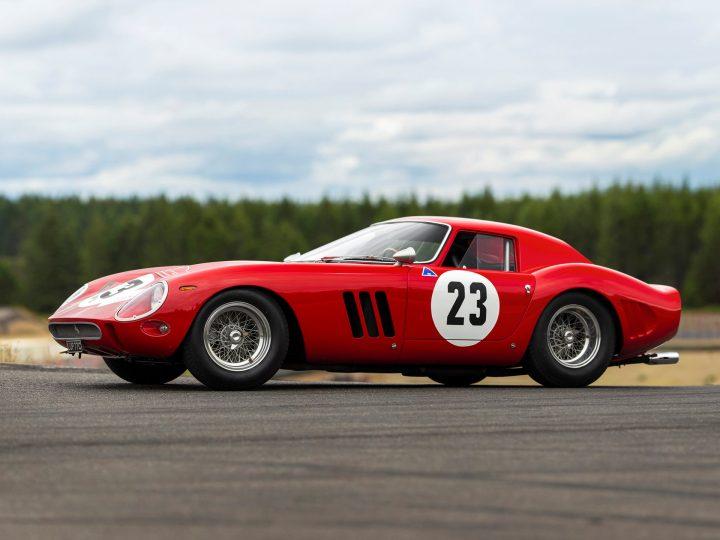 愛好家が注目する1962年製フェラーリ「250 GTO」 自動車オークション史上最高額の約53億8千万円で落札