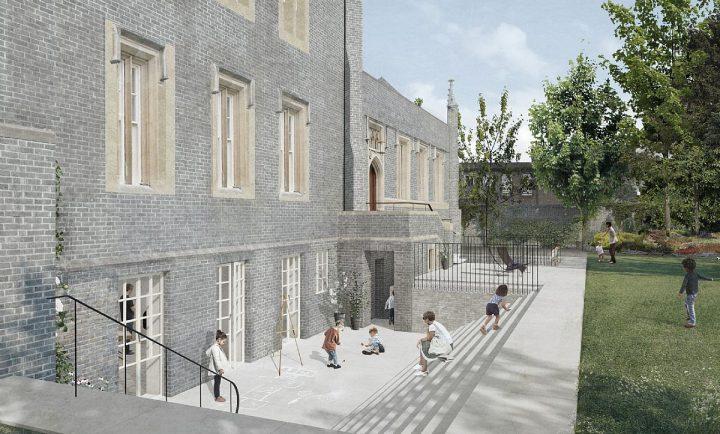 建築事務所C.F. MØLLER ARCHITECTS ロンドンにあるデンマーク国教会の改修計画が承認
